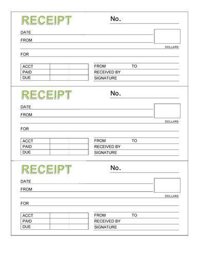 free receipt book template 3 rent receipt book with header organizing ideas