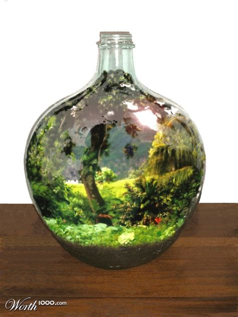 garden in a bottle bottled world worth1000 contests