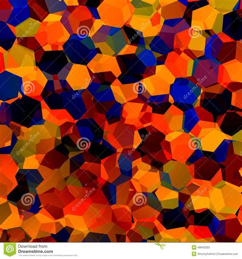 pattern color palette hexagonal color spectrum colorful abstract background