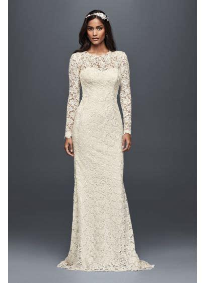 david s bridal lace wedding invitations sleeve lace wedding dress with open back david s bridal
