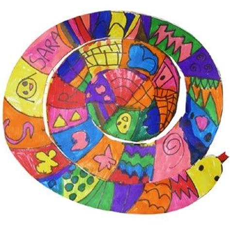 pattern snake kindergarten pattern snake art lesson plans pinterest