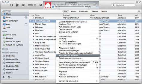 format audio itunes anleitung itunes audiodateien mit bordmitteln nach mp3