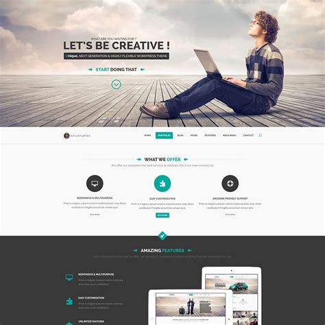 psd templates free 23 free one page psd web templates in 2017 colorlib