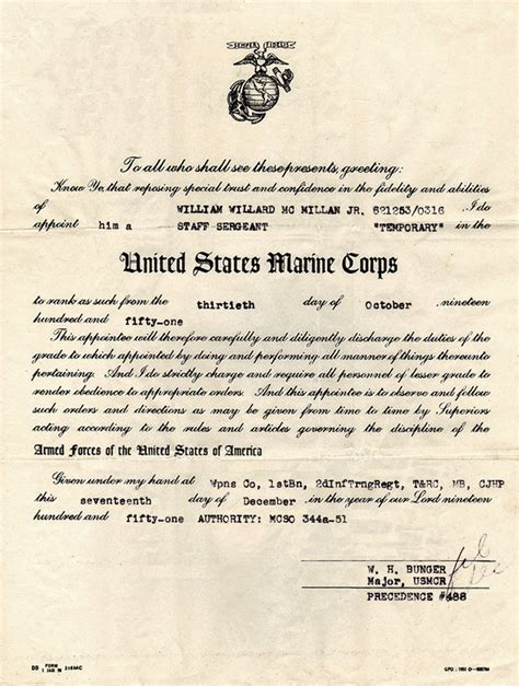 navy biography exle promotion board letter usmc the gallery for gt staff