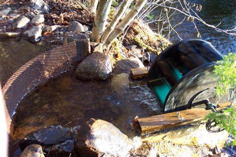 an undershoot water wheel
