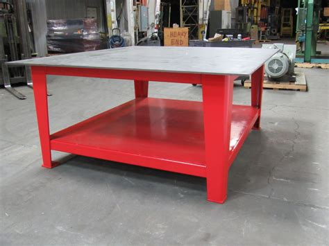 welding bench top 68x75x33 quot heavy duty steel welding layout assembly work