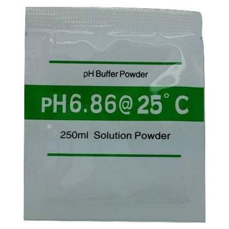 Ph Hidroponik By Bb Seed jual ph buffer powder solution ph 6 86 bibit