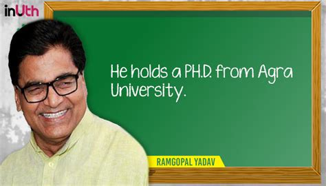 He Holds Mba by Phd To Mba A Look At Educational Qualifications Of