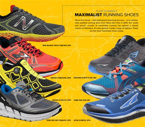 high cushioned running shoes 7 best maximalist running shoes gear patrol