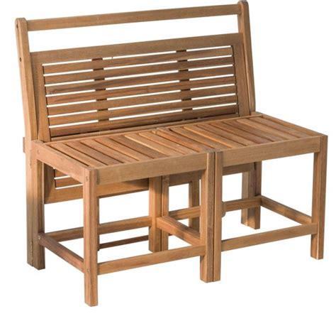 hippe kussens bank trendy tuinbank zits houten bank met tafel balkonset