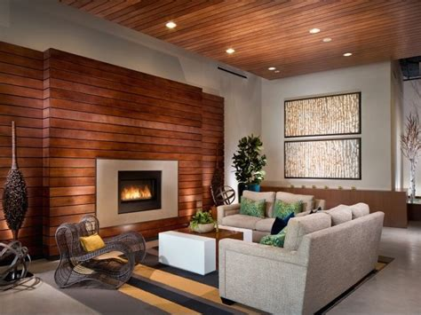 wood walls in living room wooden walls for a warm look of the living room