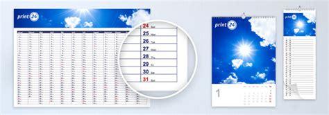 Drucken Lassen Online by Kalender Online Selbst Gestalten Und Drucken Lassen