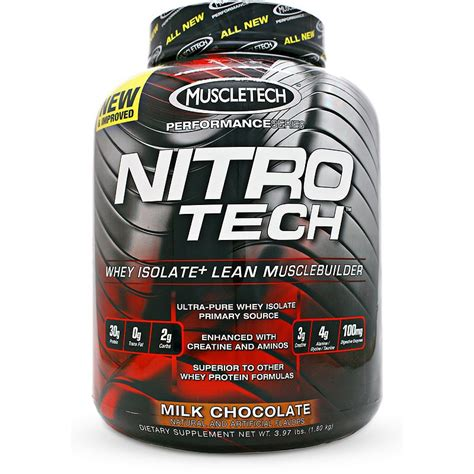 Suplemen Nitro Tech Muscletech Nitrotech Performance Series