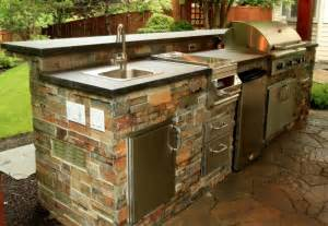 outdoor kitchen sinks ideas beautiful outdoor kitchen ideas for summer freshome