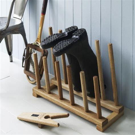 6 pair boot rack farmhouse shoe storage by graham