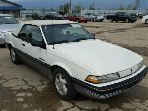 how to fix cars 1991 pontiac sunbird lane departure warning auto auction ended on vin 1g2jb34k0m7650766 1991 pontiac sunbird le in peoria il