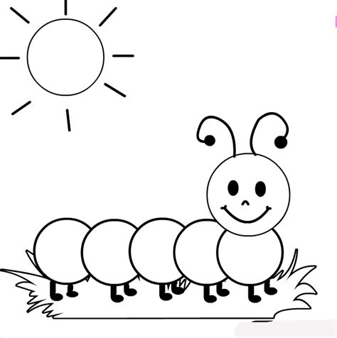 animals coloring pages centipede enjoy the summer kids