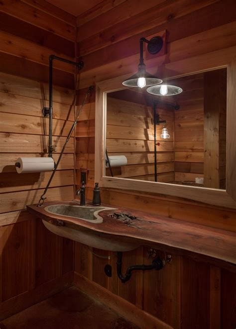 rustic cabin bathroom ideas 22 nature bathroom designs decorating ideas design