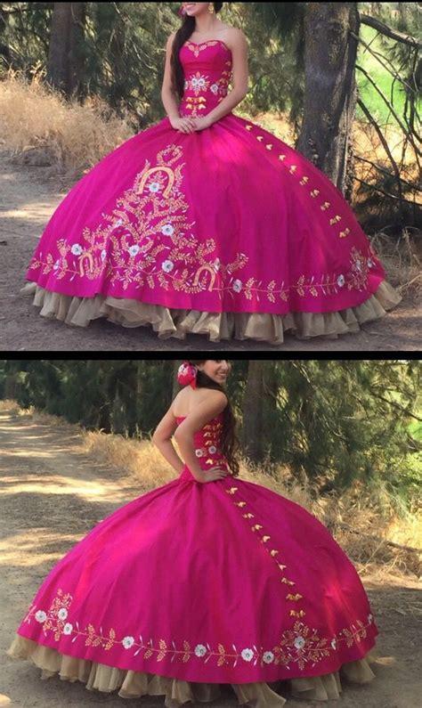 amazon vestidos charro de 15 vestido de quincea 241 era estilo charro de pink horses