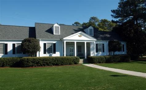 Cabins At Augusta National by Eisenhower Left On National Masters