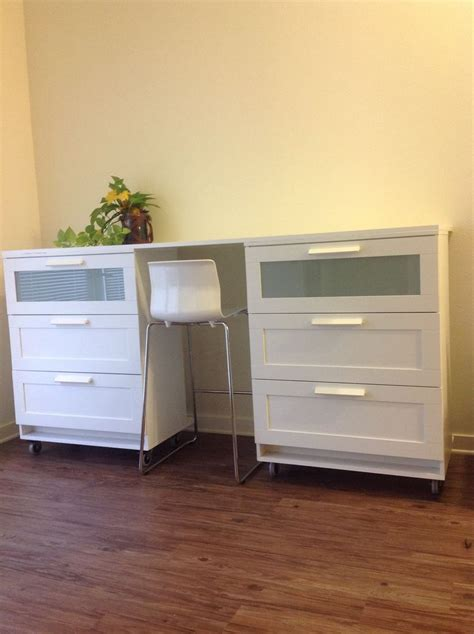 chambre brimnes mobile ikea brimnes dresser connected with table top with
