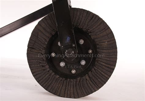 Leinbach Landscape Rake Tine Wheels For Everything Attachments Or Leinbach