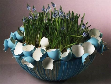 easter decorations ideas 10 easter decorations made of egg shells creative easter