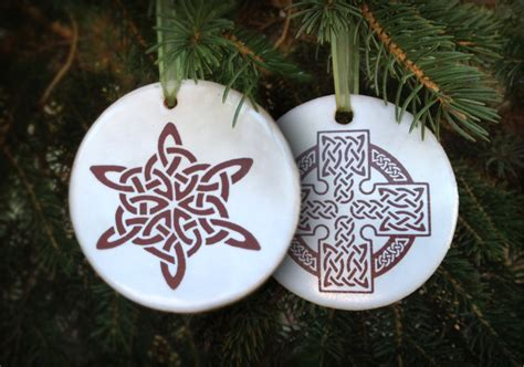 celtic christmas ornaments for 2013 irish fireside