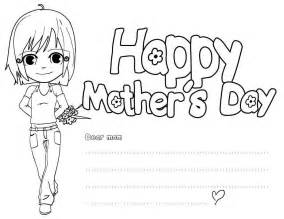happy mothers day coloring page happy mothers day coloring pages free large images