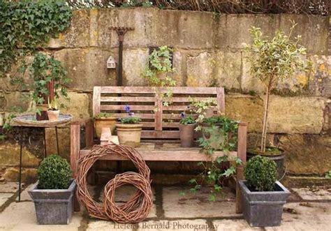 Recycling Old Chairs And Benches For Blooming Garden Wooden Garden Decorations