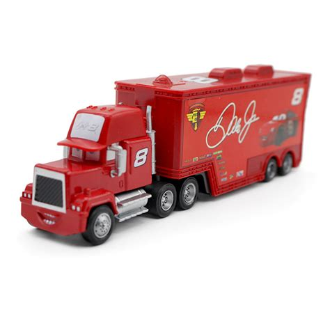 Mainan Truk Cars Truck mack no 8 dale earnhard jr racer s truck metal