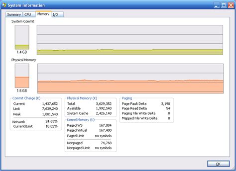 lower ram usage windows 7 memory windows commit charge lower than physical ram