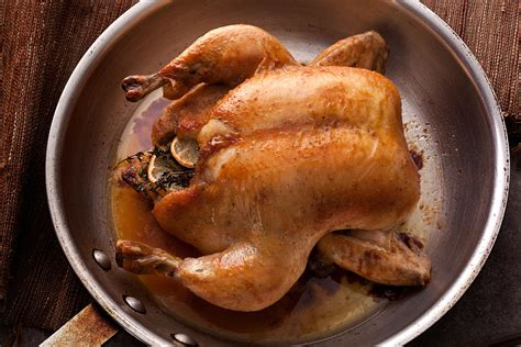 roast whole chicken basic whole roasted chicken recipe chowhound