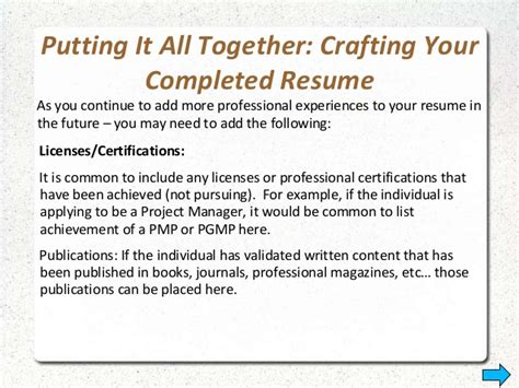 how to list publications on your resume