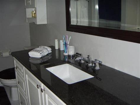 Black Marble Bathroom Countertops Black Granite Countertops Bathroom