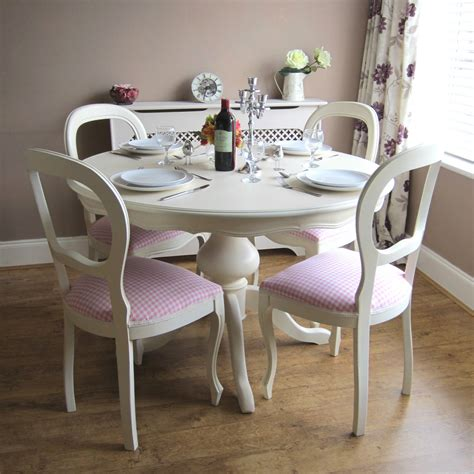 White Shabby Chic Dining Table And Chairs Shabby Chic Table And Chairs Ebay