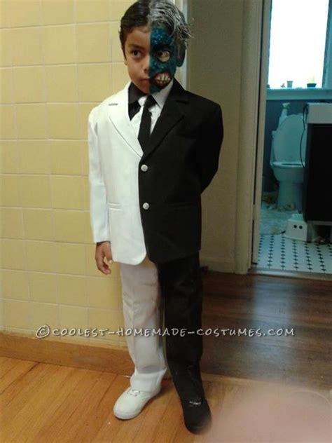 awesome two face batman villain costume