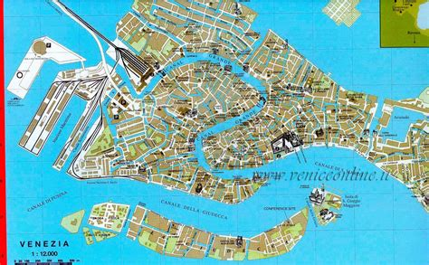 venice map veniceonline venice maps