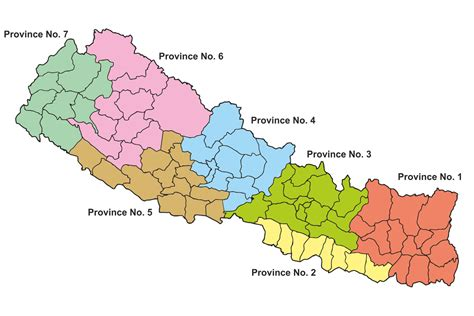 province map provinces of nepal