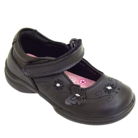 school shoes size 3 black leather velcro school shoes size 8 3 ebay