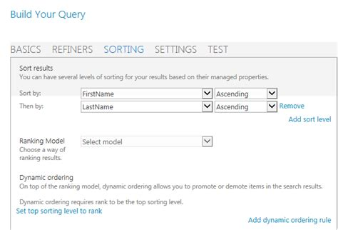 Search By Last Name Web Part Sp 2013 Search Sort By Last Name Sharepoint Stack Exchange