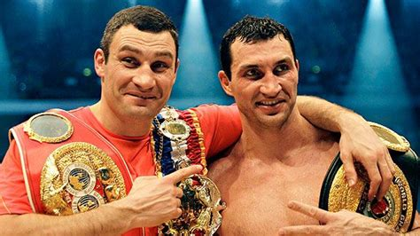 klitschko brothers who is better boxing wladimir and vitali klitschko fighting one another