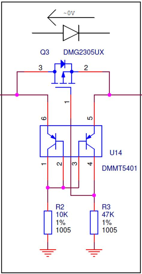ideal diode series resistance understanding an ideal diode made from a p channel mosfet and pnp transistors electrical