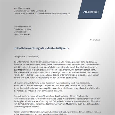 Initiativbewerbung Anschreiben Sachbearbeiterin Initiativbewerbung Vorlage Bewerbung Co