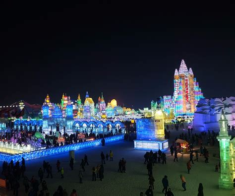 harbin ice festival harbin ice snow festival aspen travel