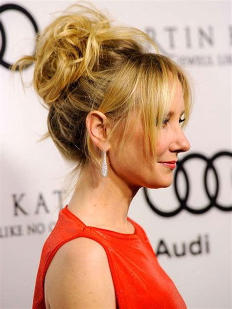 casual updos pinterest anne heche casual updos hairstyles jpg 600 215 800 hair