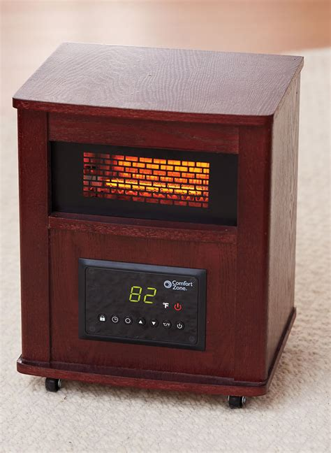 comfort zone therapeutic infrared heater comfort zone 174 infrared cabinet heater amerimark online