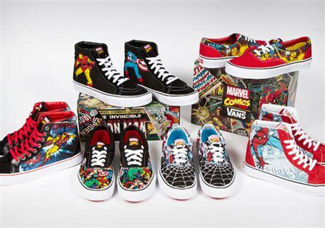 Vans Marvels Comic marvel comics x vans collection sneakernews
