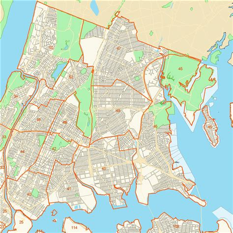 bronx map crg bronx precinct map
