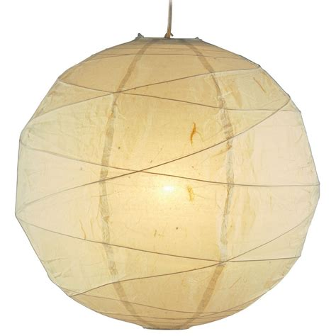 Paper Pendant Lighting Modern Pendant Light With Beige Paper Shade In Finish 4161 12 Destination